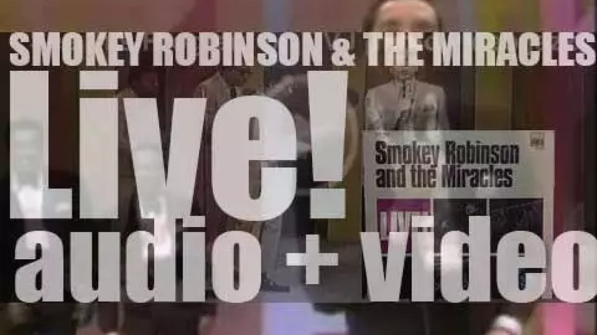 Tamla publish 'Smokey Robinson & The Miracles LIVE!' recorded at The Roostertail in Detroit (1969)