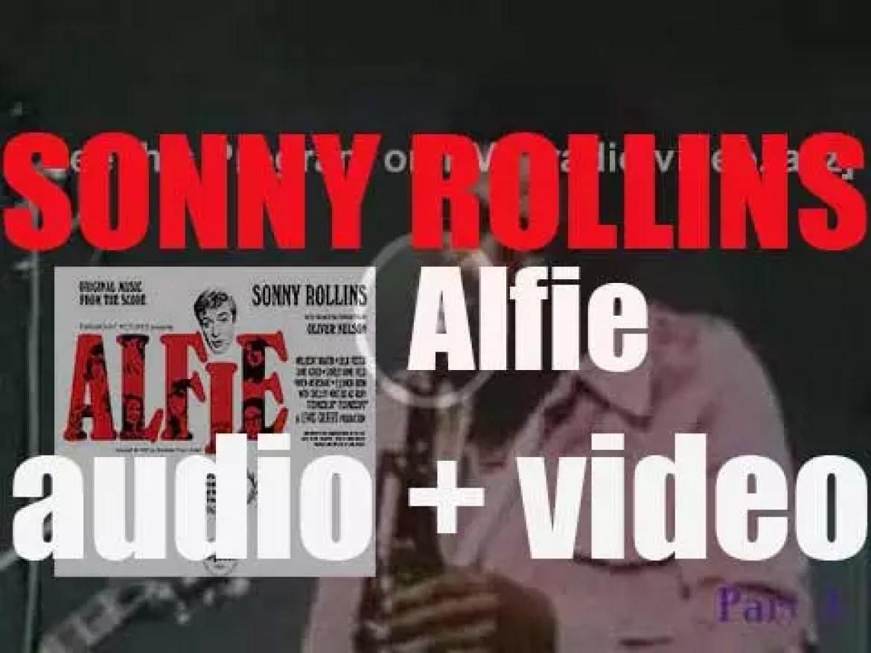 Sonny Rollins records 'Alfie,' an album for Impulse! (1966)