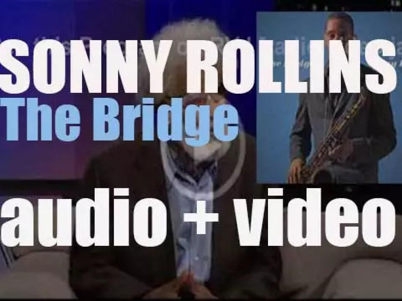 Sonny Rollins begins the recording of the album 'The Bridge' (1962)