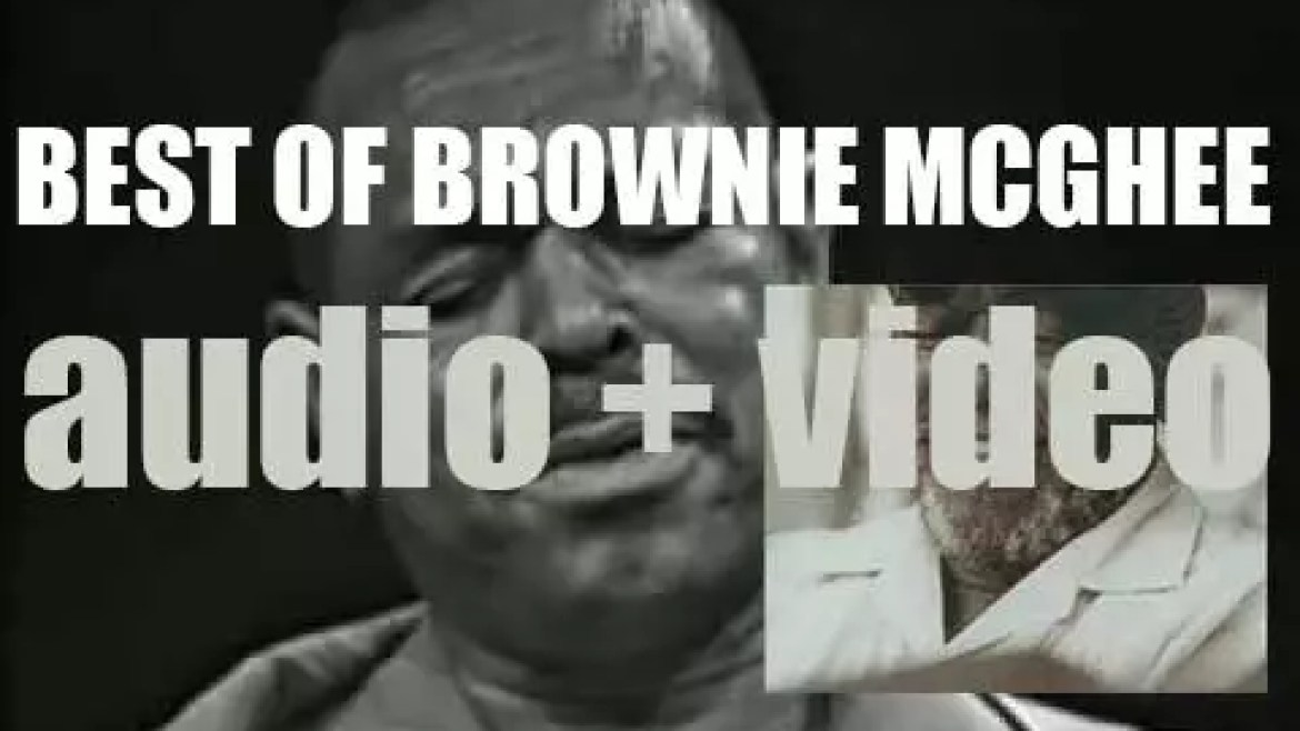 We remember Brownie McGhee. 'Passing With The Blues'