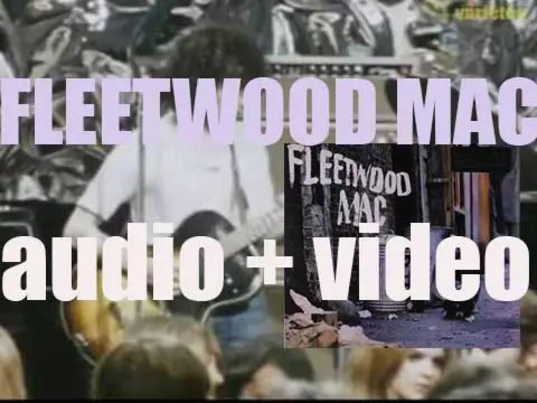 Fleetwood Mac featuring Peter Green & Jeremy Spencer release their debut album 'Fleetwood Mac' (1968)