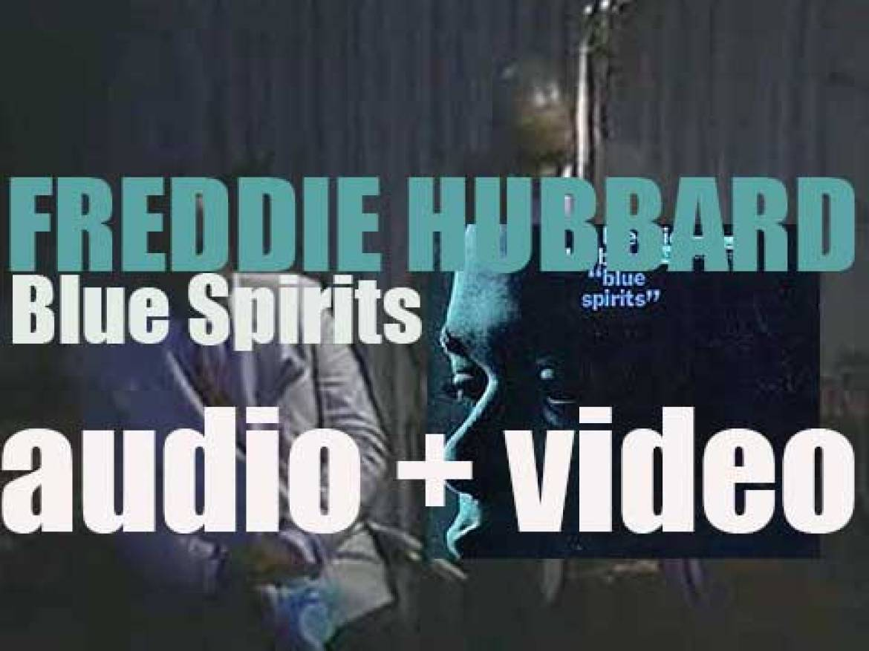 Freddie Hubbard records 'Blue Spirits' with  Joe Henderson, Hank Mobley & McCoy Tyner (1965)