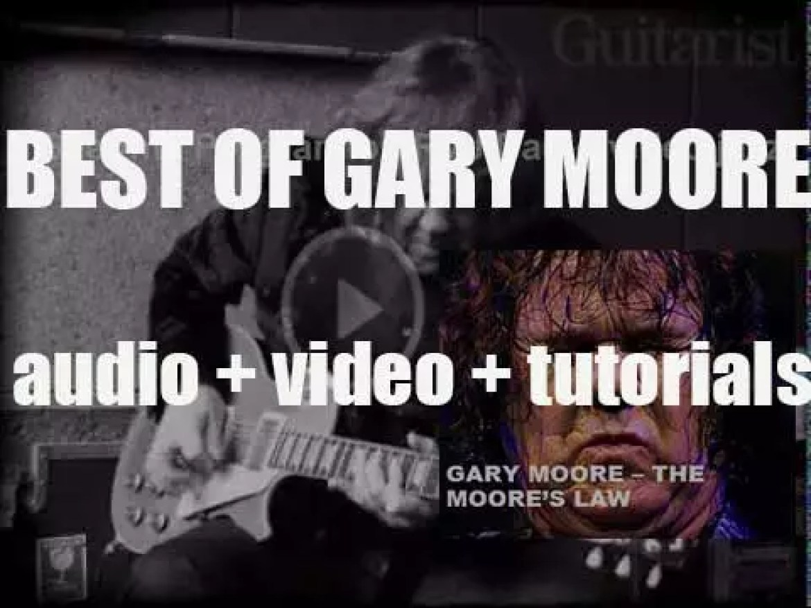 We remember Gary Moore. 'The Moore's Law'