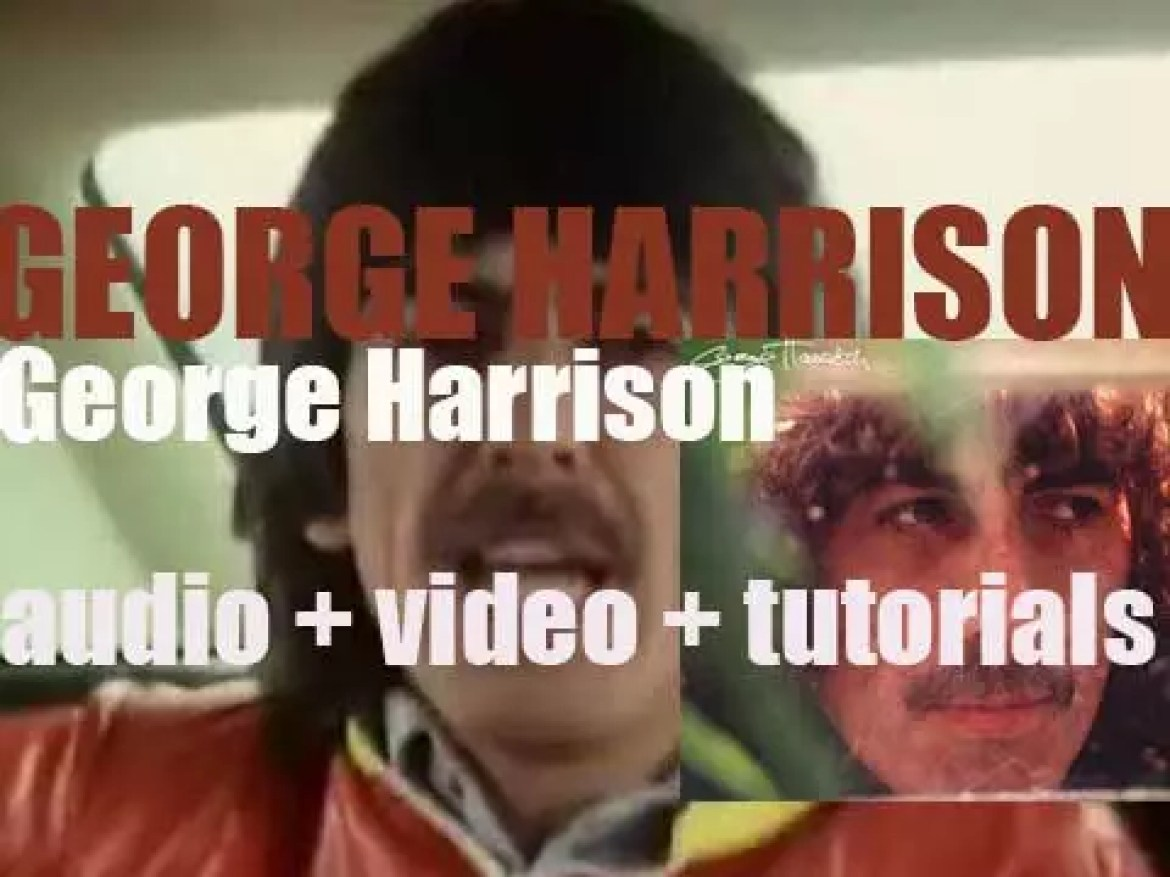 'George Harrison' releases 'George Harrison' featuring Eric Clapton and Stevie Winwood (1979)