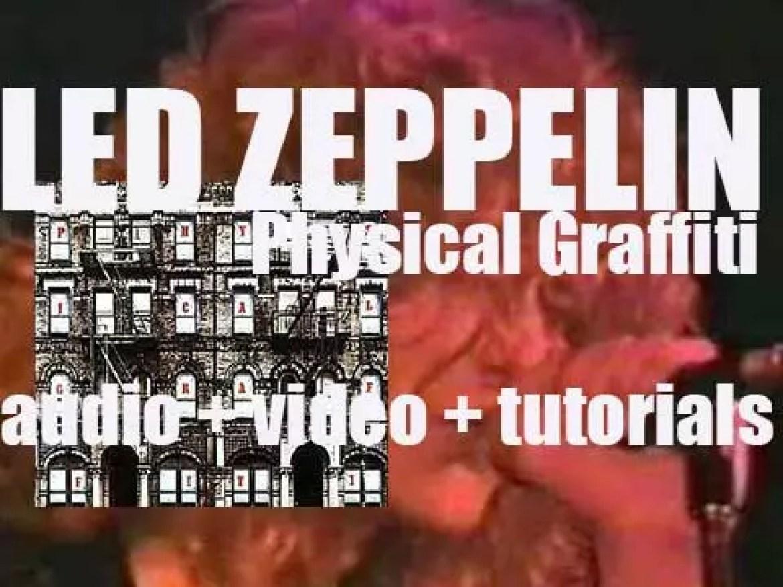 Led Zeppelin release 'Physical Graffiti,' their sixth album featuring 'Kashmir' (1975)