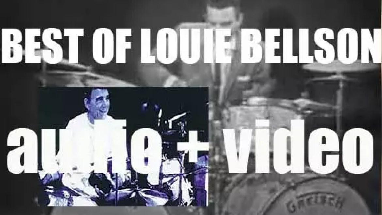 We remember Louie Bellson. 'Bellson's Drum Roll Fades'