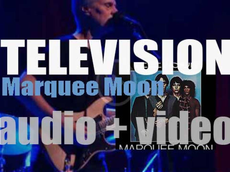 Elektra publish Television's debut album : 'Marquee Moon' (1977)