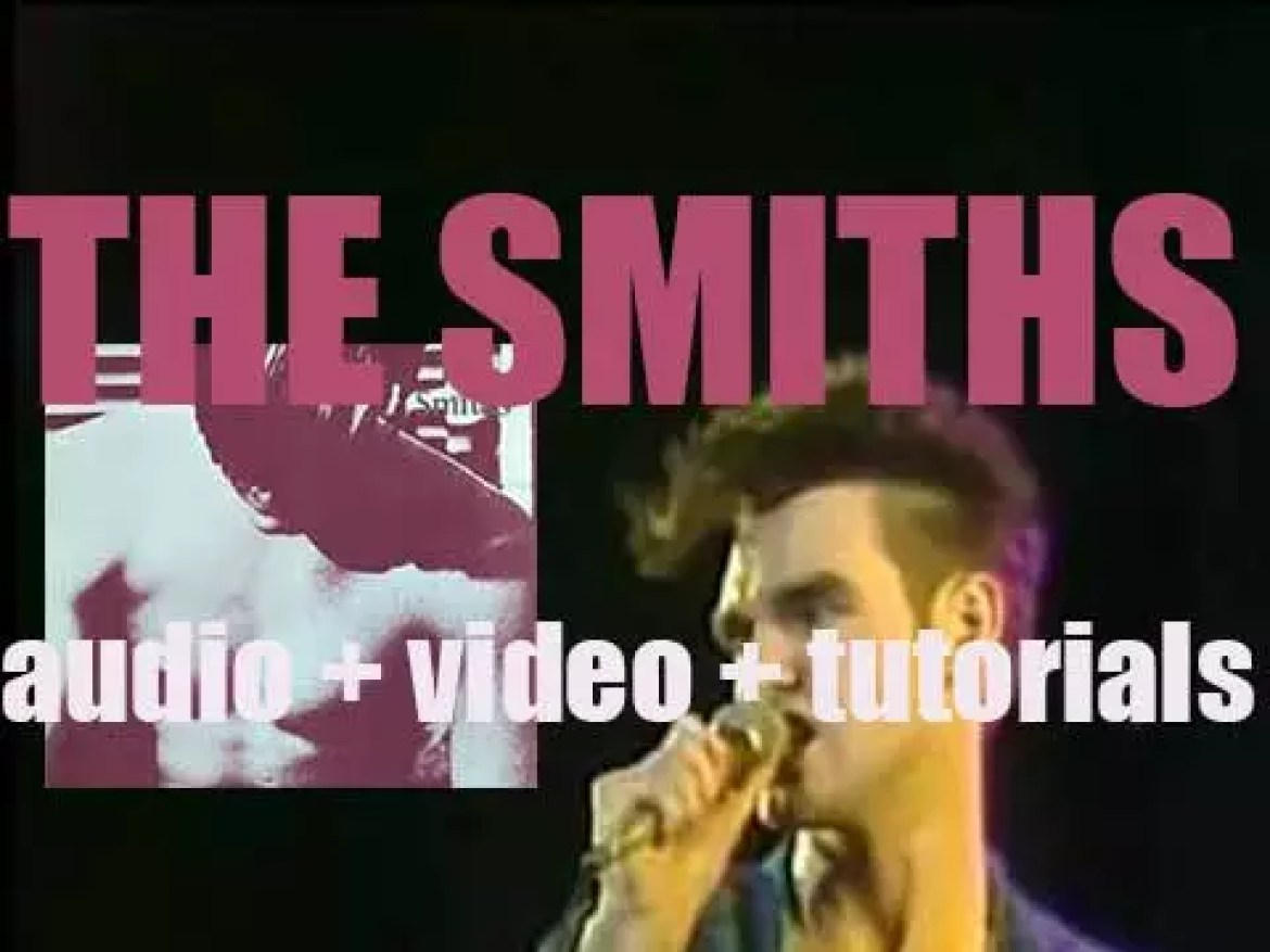 Rough Trade publish 'The Smiths,' their debut eponymous featuring 'What Difference Does It Make?' (1983)
