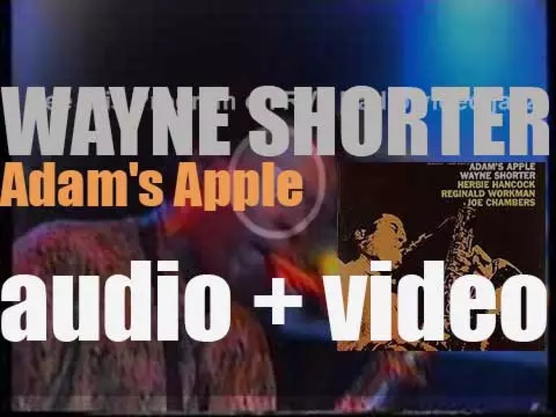 Wayne Shorter records 'Adam's Apple' an album for Blue Note (1966)