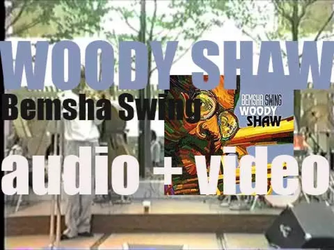 Woody Shaw records live in Detroit 'Bemsha Swing' for Blue Note (1986)