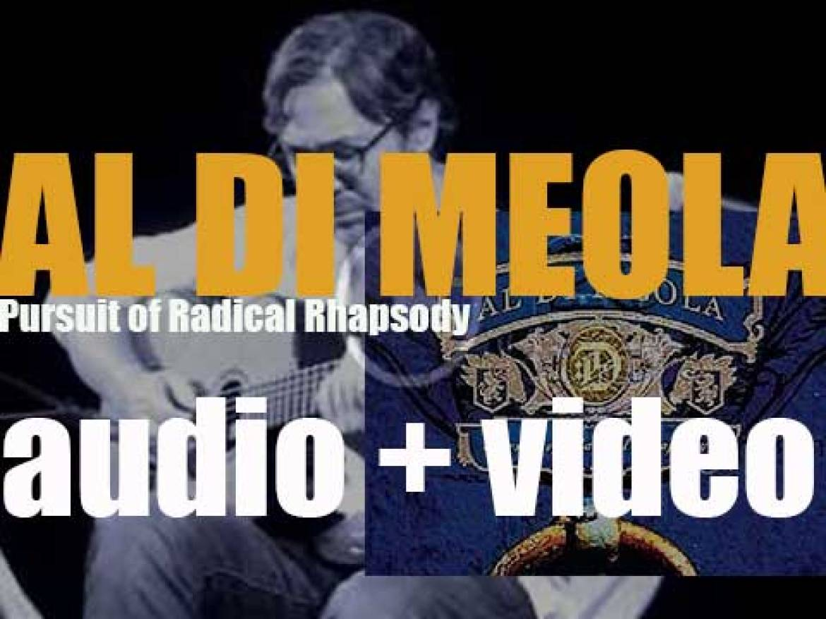 Al Di Meola releases 'Pursuit of Radical Rhapsody' recorded with World Sinfonia (2011)