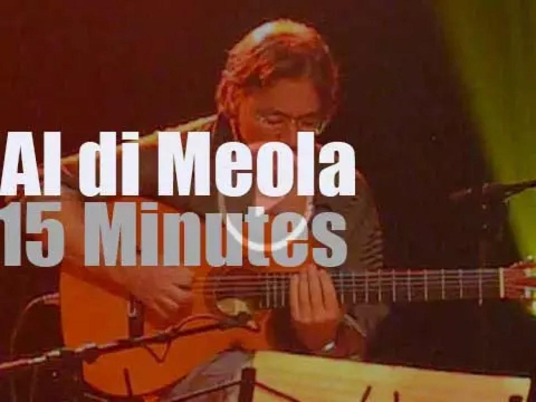 Al di Meola plays in  Limbourg, Belgium  (2009)