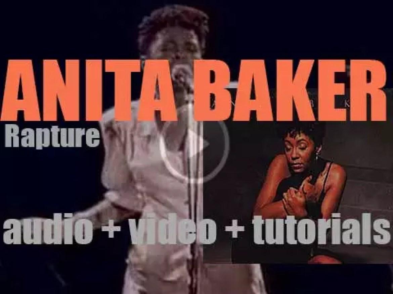 Elektra publishes the second Anita Baker's album 'Rapture' (1986)