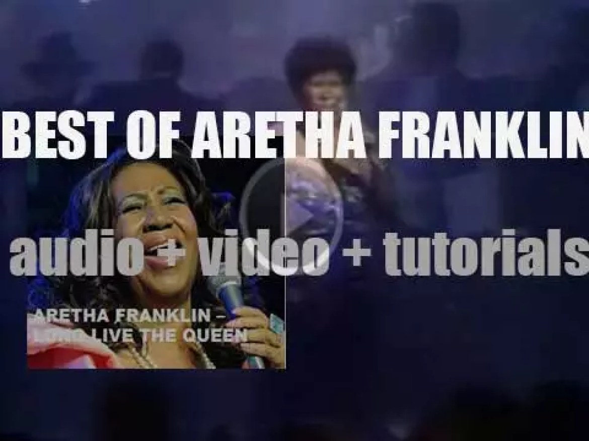 We remember Aretha Franklin. 'Long Live The Queen, she lives forever'