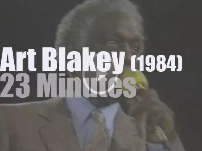 Art Blakey & The Jazz Messengers at Jazzwoche, Burghausen (1984)
