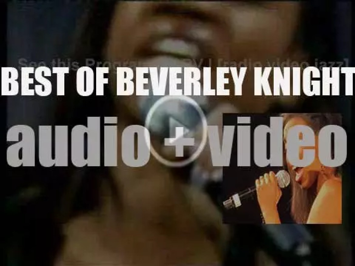 Happy Birthday Beverley Knight. 'Lady Knight'