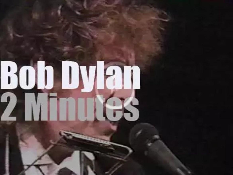 Bob Dylan sings Gershwin at the Gershwin Gala (1987)