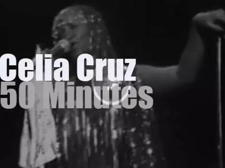 Celia Cruz sings in New-Jersey (1980)