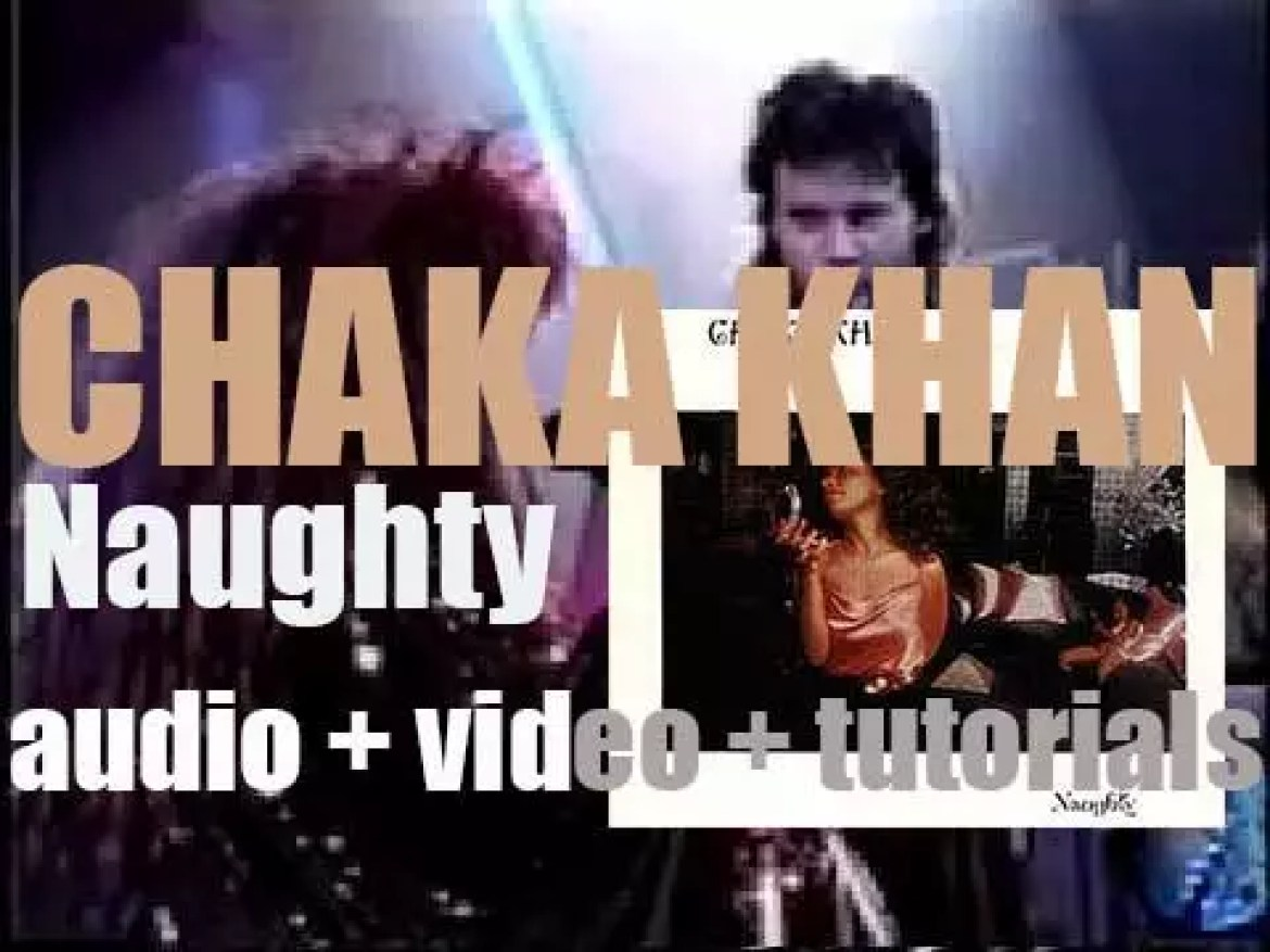 Warner Bros. release Chaka Khan's second solo album : 'Naughty' produced By Arif Mardin (1980)