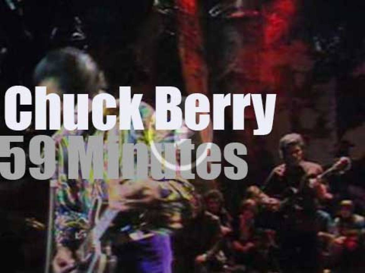 English television tapes a Chuck Berry Concert (1972)