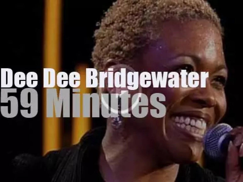 Dee Dee Bridgewater at Jazzwoche Burghausen (1998)