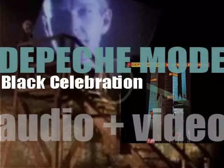 Mute Records release Depeche Mode's fifth studio album : 'Black Celebration' (1986)