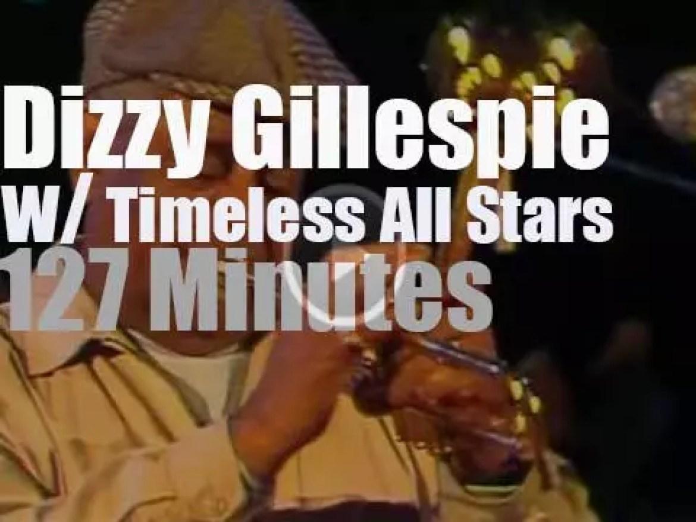"Dizzy Gillespie ""Timeless All Stars"" gather in Hamburg (1986)"