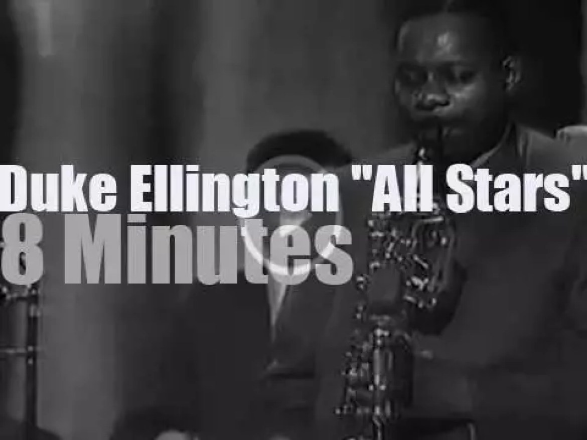 Duke Ellington All Stars at the Sanremo Jazz Festival (1964)