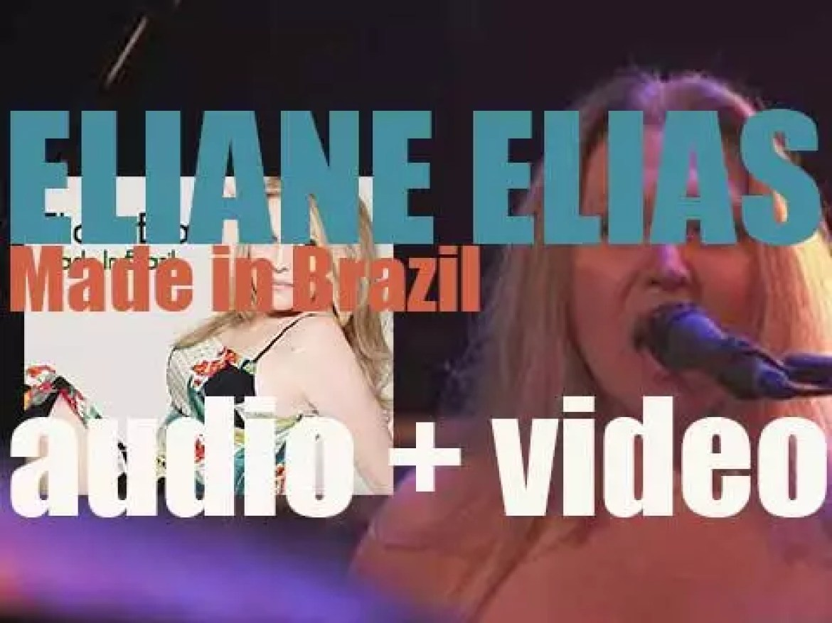 Eliane Elias releases her first album 'Made in Brazil' since 1981 (2015)