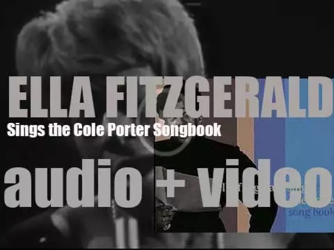 Recording of 'Ella Fitzgerald Sings the Cole Porter Songbook' is wrapped up today (1956)
