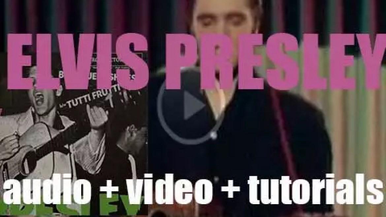 Rca Victor release in mono 'Elvis Presley,' his debut album (1956)