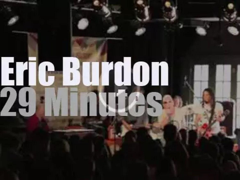 Eric Burdon spills the wine (again) in Austin (2013)