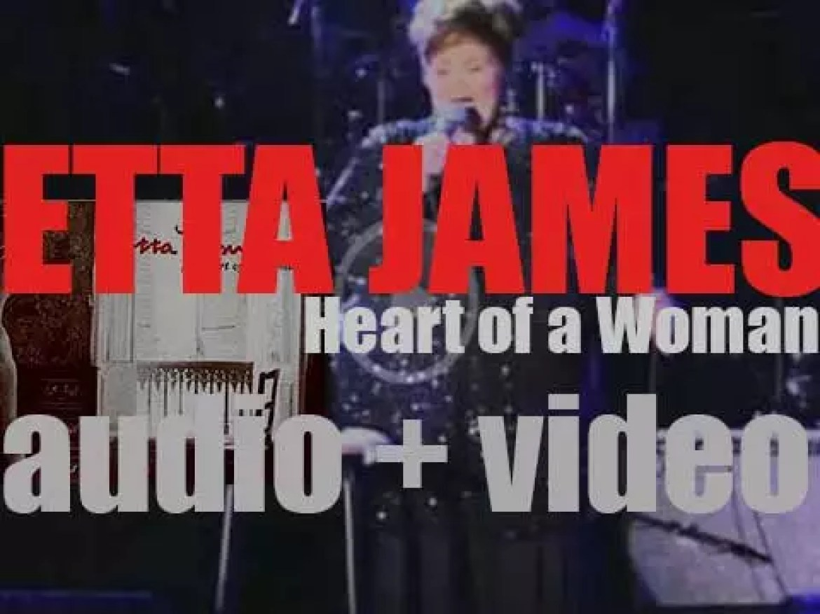 Etta James records 'Heart of a Woman' for RCA (1999)
