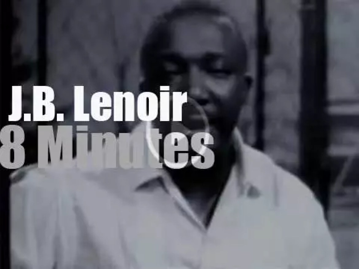 We remember J.B. Lenoir