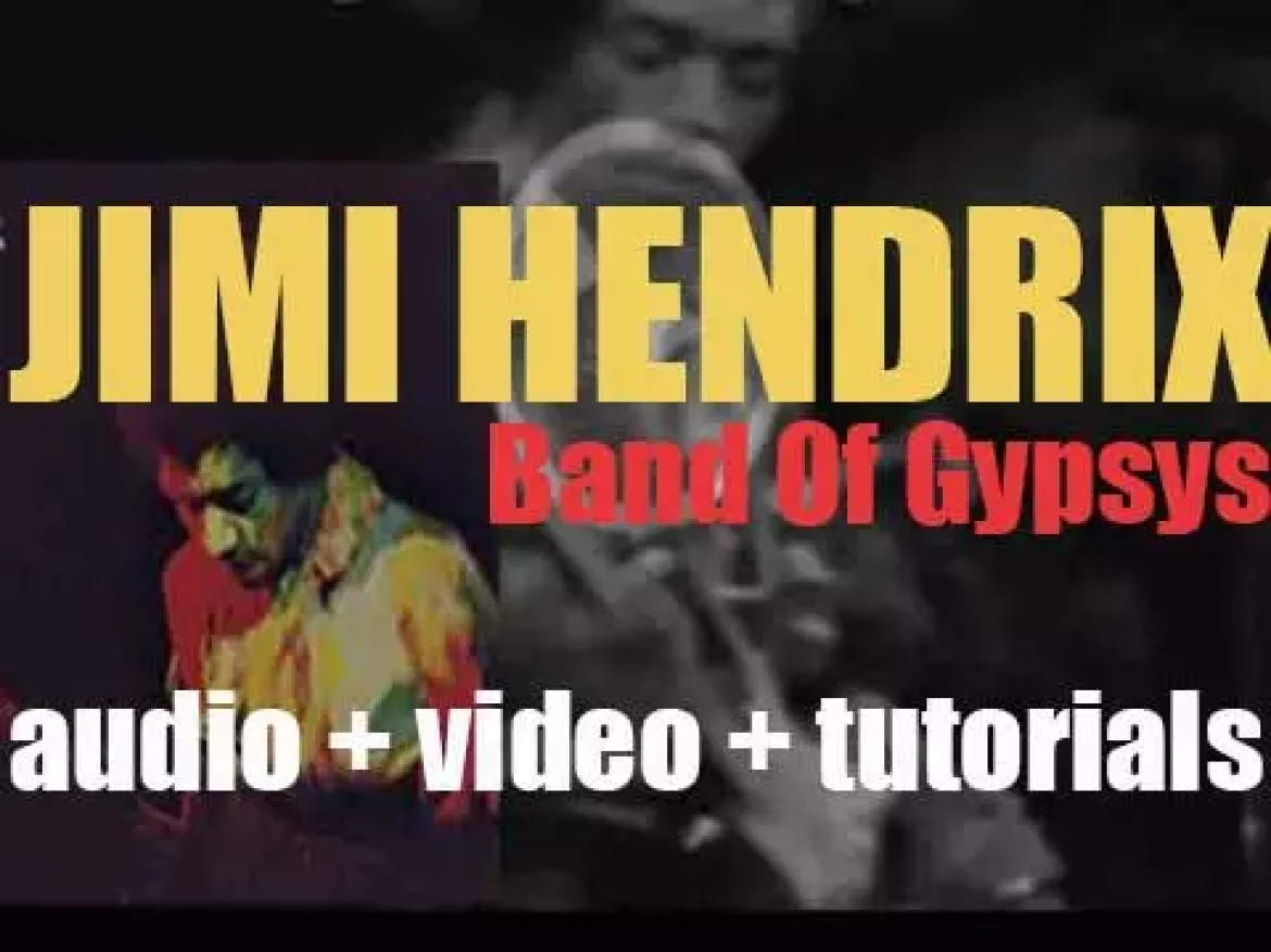 Capitol release Jimi Hendrix  'Band of Gypsys,' an album recorded live at Fillmore East (1970)
