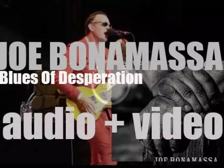 Joe Bonamassa releases 'Blues Of Desperation,' his twelfth album (2016)