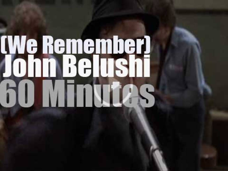 We remember John Belushi