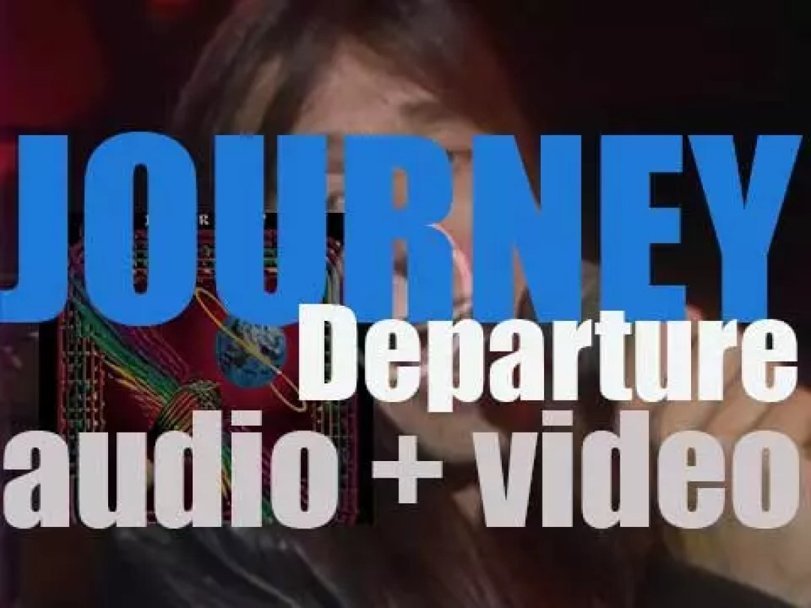 Journey release 'Departure,' their sixth album featuring 'Any Way You Want It' (1980)