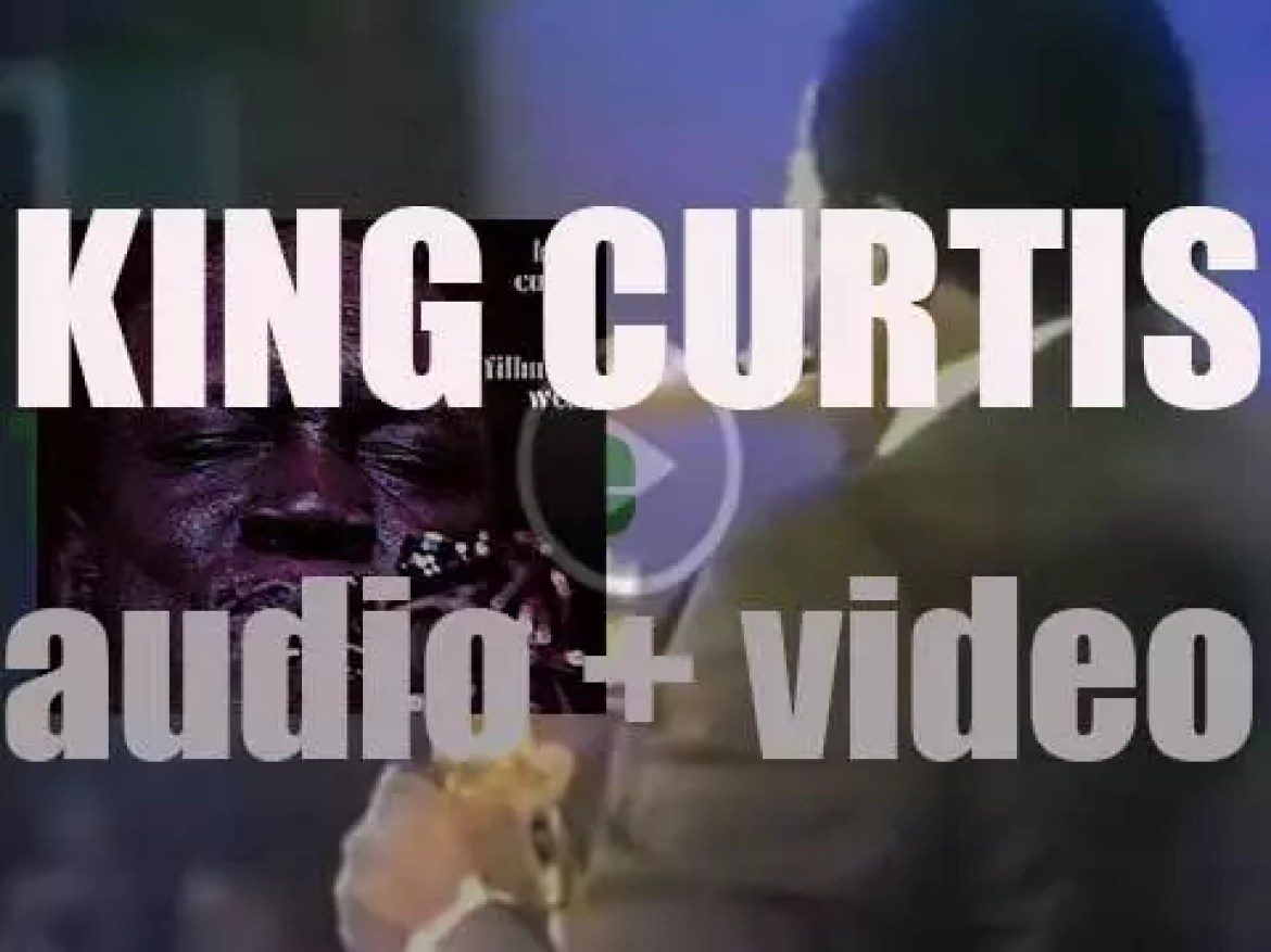 King Curtis records 'Live at Fillmore West' while opening for Aretha (1971)