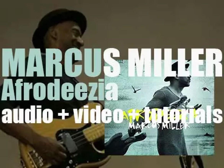 Marcus Miller publishes 'Afrodeezia,' his  twelth album via Blue Note (2015)
