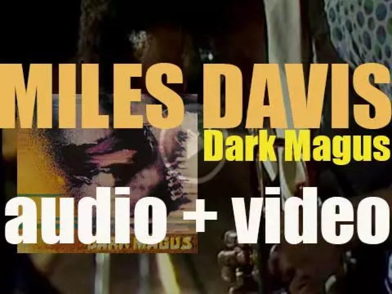 Miles Davis records 'Dark Magus' at Carnegie Hall in New York City (1974)