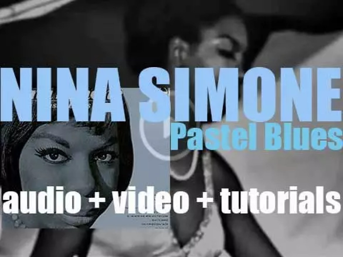 Nina Simone starts  the recording of her 'Pastel Blues' album featuring 'Be My Husband' (1965)