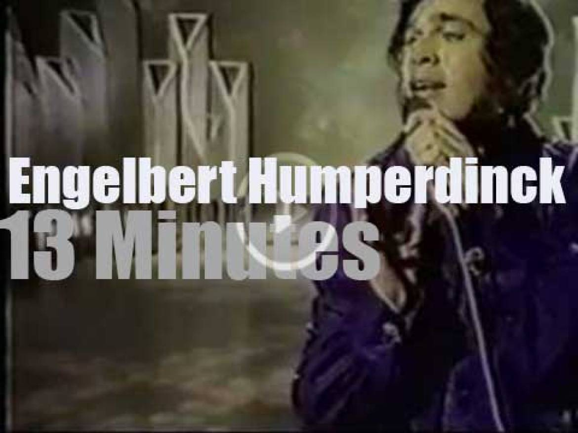 """On TV today, """"Engelbert Humperdinck and The Young Generation"""" (1972)"""