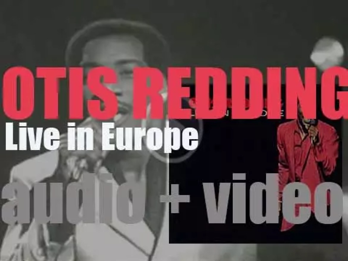 Otis Redding records 'Live in Europe' at the Olympia Theatre in Paris (1957)