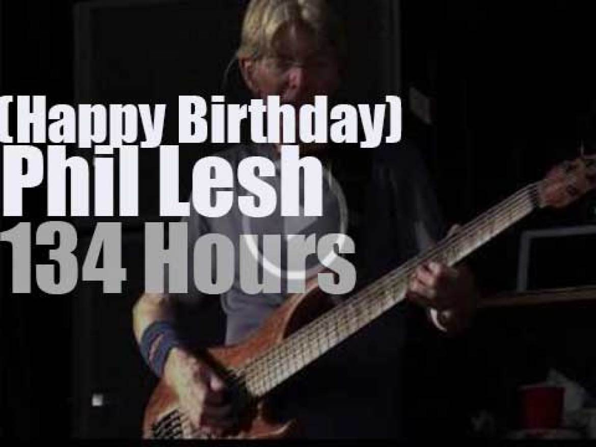Happy Birthday Phil Lesh