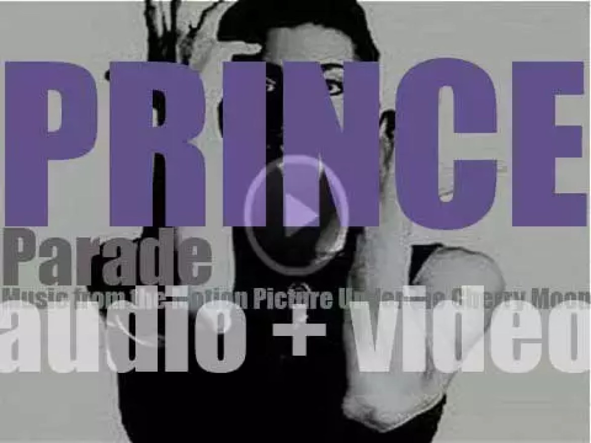 Prince releases 'Parade' (Music from the Motion Picture 'Under the Cherry Moon') featuring 'Kiss' (1986)