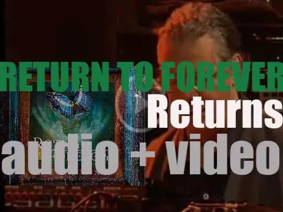 Return to Forever return after 32 years with a live album called …. 'Returns' (2009)