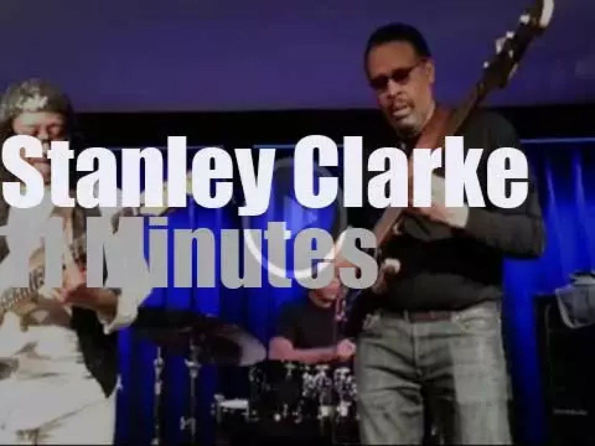 Stanley Clarke surprises an old friend in Hannover, Germany (2016)
