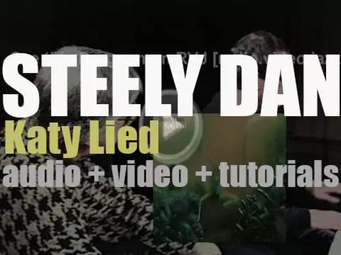Steely Dan release their fourth album : 'Katy Lied,' their first to feature Michael McDonald (1975)