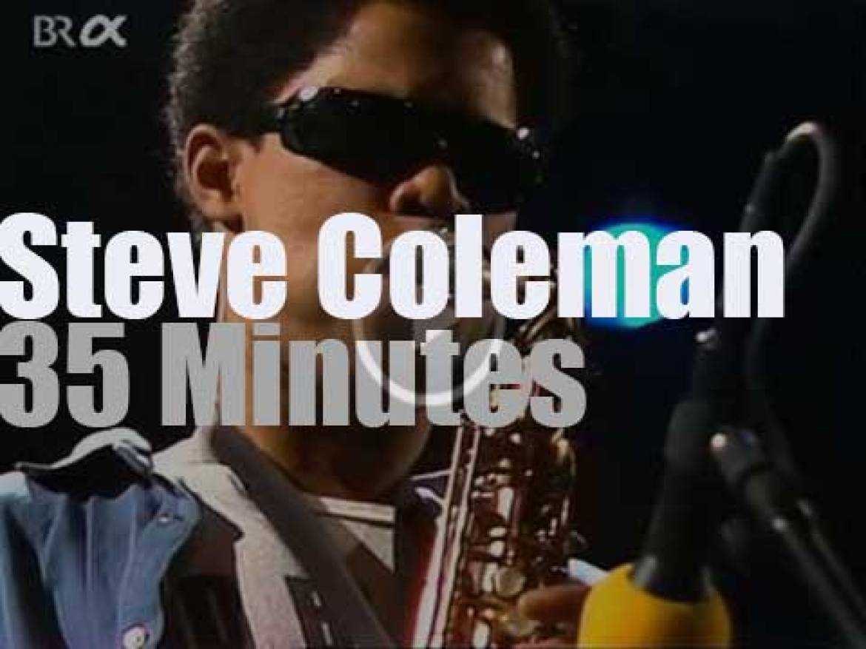 Steve Coleman & 5 Elements at Jazzwoche Burghausen (1990)